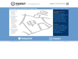imagebank.indesitcompany.co.uk screenshot