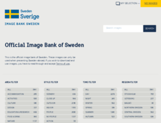 imagebank.sweden.se screenshot