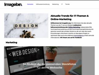 imagebin.org screenshot