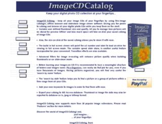 imagecd-catalog.rsoftr.com screenshot