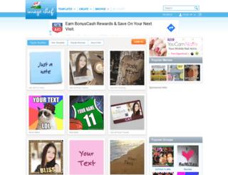 imagechef.com screenshot