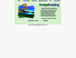 imagehosting.com screenshot