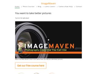 imagemaven.com screenshot