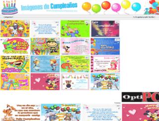 imagenesdecumpleanos.info screenshot