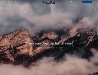 imageride.com screenshot