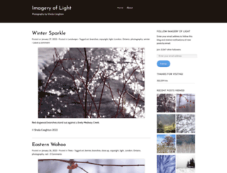 imageryoflight.wordpress.com screenshot