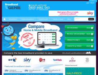 images.broadbandgenie.co.uk screenshot
