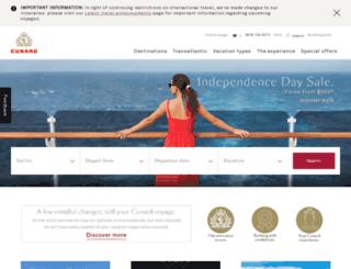 images.cunard.com screenshot