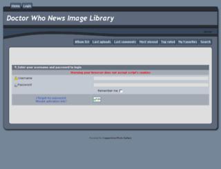 images.doctorwhonews.net screenshot
