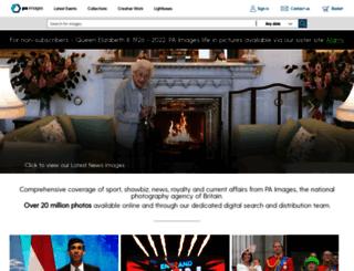 images.pressassociation.com screenshot