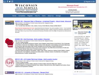 images2.wisconsinsurplus.com screenshot