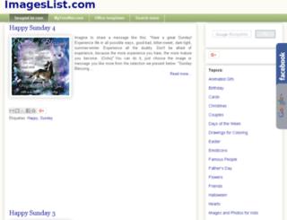 imageslist.com screenshot