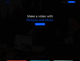 imagetovideo.com screenshot