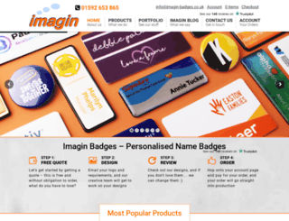 imagin-badges.co.uk screenshot