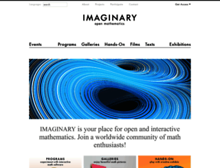 imaginary.org screenshot