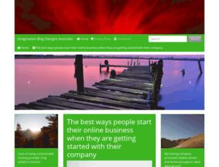 imaginationblogdesigns.com screenshot
