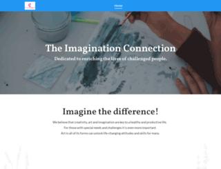imaginationconnection.org screenshot