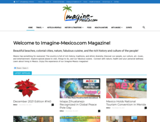 imagine-mexico.com screenshot