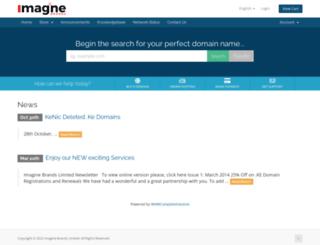 imagine.co.ke screenshot