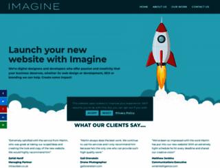 imagine.eu.com screenshot