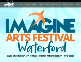 imagineartsfestival.com screenshot