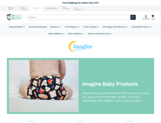 imaginebabyproducts.com screenshot