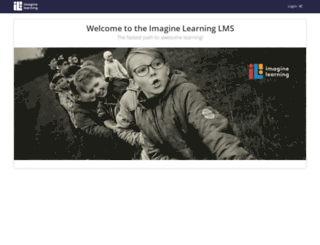 imaginelearning.talentlms.com screenshot
