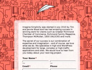 imaginesimplicity.com screenshot