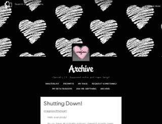 imaginesoftheheart.tumblr.com screenshot