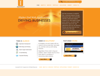 imaginetserver.com screenshot