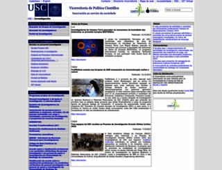 imaisd.usc.es screenshot