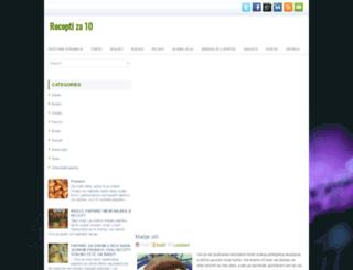 imamonajboljerecepte.blogspot.com screenshot
