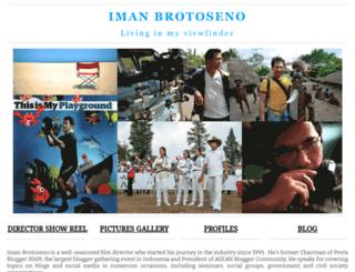 imanbrotoseno.com screenshot