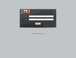 imap.oabpr.org.br screenshot