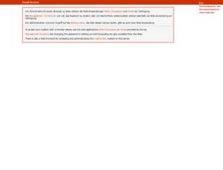 imap.uni-ulm.de screenshot