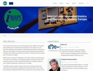 imapseurope.org screenshot