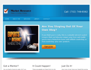 imarketresource.com screenshot