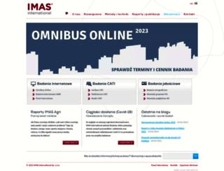 imas.pl screenshot