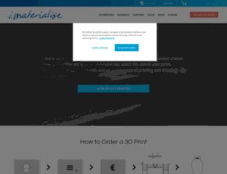 imaterialize.com screenshot