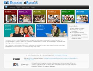 imatrix.infohio.org screenshot