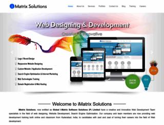 imatrixsolutions.com screenshot