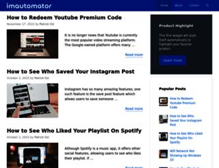 imautomator.com screenshot