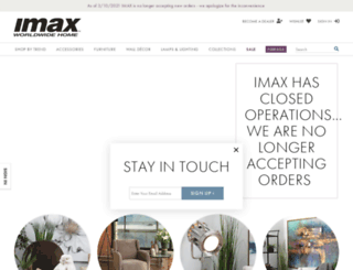 imaxcorp.com screenshot