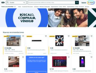 imbabura.olx.com.ec screenshot