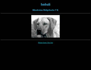 imbaliridgebacks.co.uk screenshot