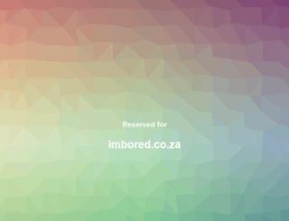 imbored.co.za screenshot