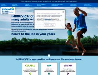 imbruvica.com screenshot