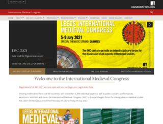 imc.leeds.ac.uk screenshot