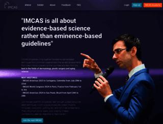 imcas.com screenshot