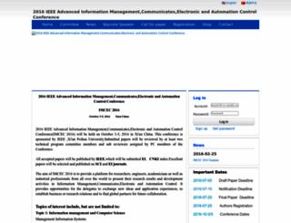 imcec.aconf.org screenshot